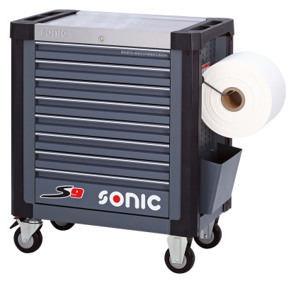 Der Sonic S9, beliebtester Werkstattwagen mit 8...