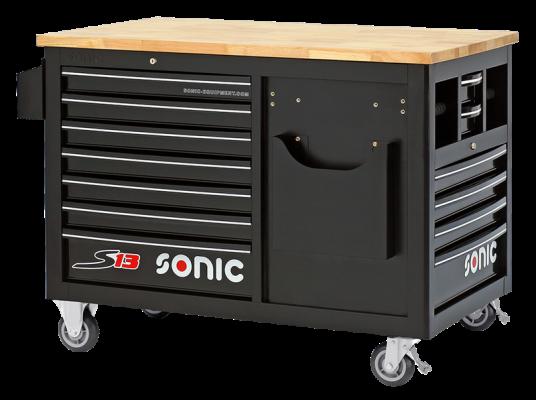Sonic Equipment Werkstattwagen leer