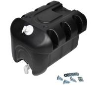 NEU Wassertank 30L aus Kunstoff mit Seifenspender, schwarz