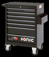 Sonic Equipment Werkstattwagen leer, S8, 7 Schubladen ,...