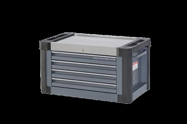 Sonic Equipment Aufsatzbox leer, S9, 4 Laden, dunkelgrau (RAL7011) 4730224
