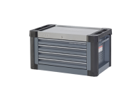 Sonic Equipment Aufsatzbox leer, S9, 4 Laden, dunkelgrau...