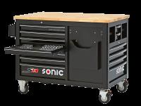 Sonic Equipment Werkstattwagen leer, S13, schwarz 47308113