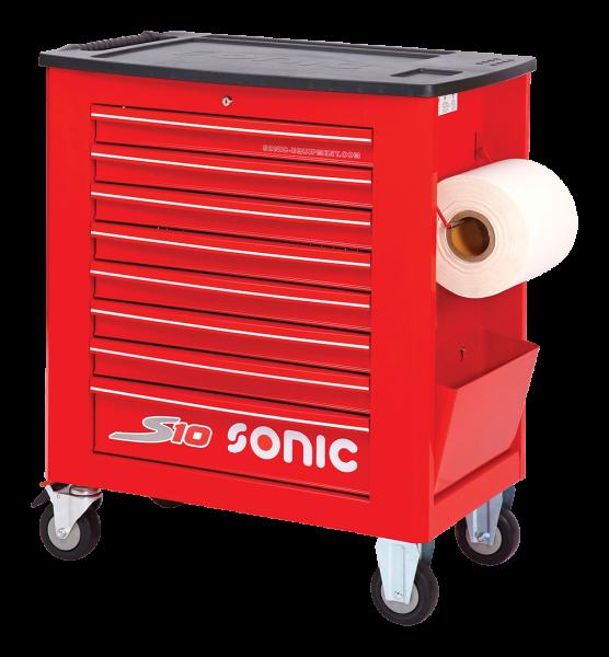 Sonic Equipment Werkstattwagen leer, S10, rot 4730928