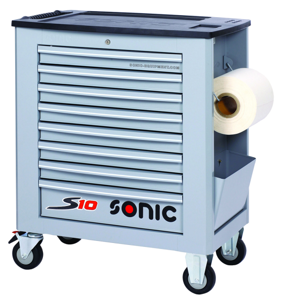 Sonic Equipment Werkstattwagen leer, S10, grau 4730948