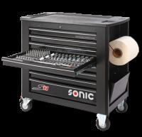 Sonic Equipment Werkstattwagen leer, S11, schwarz 4731118