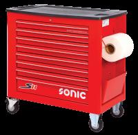 Sonic Equipment Werkstattwagen leer, S11, rot 4731128
