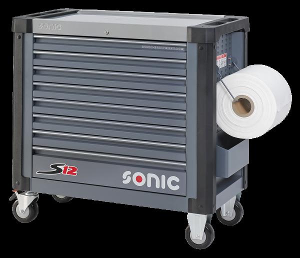 Sonic Equipment Werkstattwagen leer, S12, dunkelgrau (RAL7011) 4732718