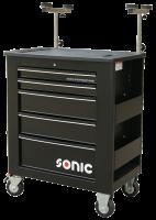 Sonic Equipment Werkstattwagen leer, für Glas, 5...