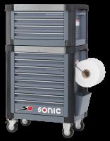 Sonic Equipment Werkstattwagen 4733210 + Aufsatzbox...