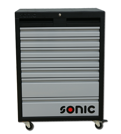 Sonic Equipment MSS 674mm Werkstattwagen 7 Schubladen, kleine Rollen 47451