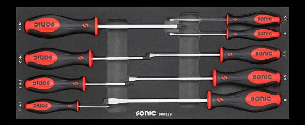 Sonic Equipment Schraubendrehersatz für 4730414, 9-tlg. 600929
