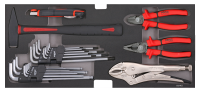 Sonic Equipment Hammer, Zangen, Innensechskant-Satz...