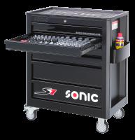 Sonic Equipment Werkstattwagen S7 gefüllt, 149-tlg.,...