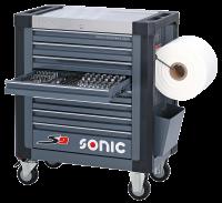 Sonic Equipment Werkstattwagen S9 gefüllt,...