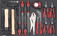 Sonic Equipment Filled toolbox SFS S9 192pcs 719231