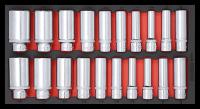 Sonic Equipment Werkstattwagen S10 Schwarz gefüllt, 279-tlg., SAE 727909