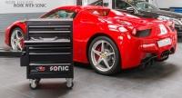 Sonic Equipment Werkstattwagen S8 gefüllt, 285-tlg.,...