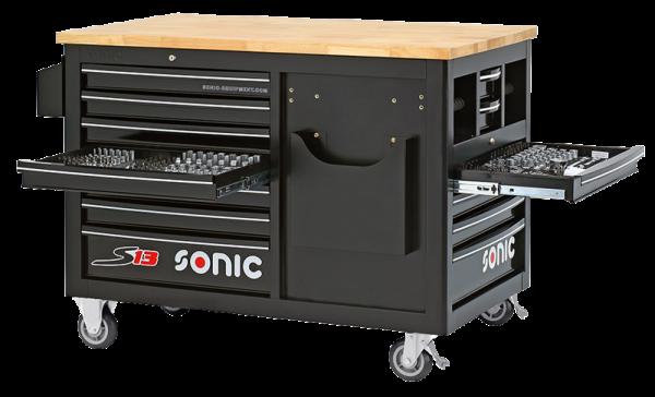 Sonic Equipment Filled toolbox S13 290pcs SFS 728907