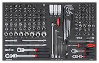 Sonic Equipment Filled toolbox S9 295pcs VW 729531