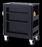 Sonic Equipment Werkstattwagen S10 gefüllt, 302-tlg., Schaum 1/3, schwarz 730209