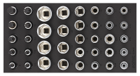 Sonic Equipment Filled toolbox SFS 1/3 S9 302pcs 730231