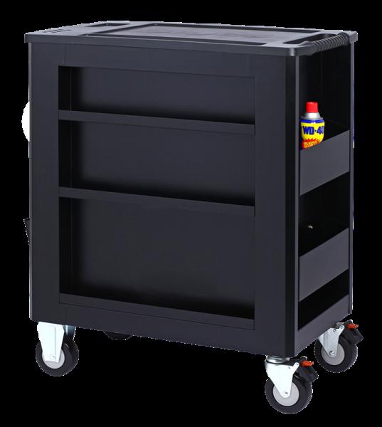 Sonic Equipment Werkstattwagen S10 gefüllt, 337-tlg., schwarz 733709