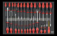Sonic Equipment Werkstattwagen S9 gefüllt, 337-tlg., dunkelgrau 733731