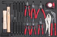 Sonic Equipment Werkstattwagen S9 gefüllt, 420-tlg., dunkelgrau 742031