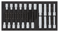 Sonic Equipment Werkstattwagen S9 gefüllt, 471-tlg., Schaum 1/3, dunkelgrau 747131