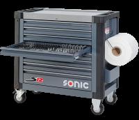 Sonic Equipment Werkstattwagen S12 gefüllt,...
