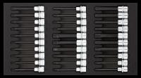 Sonic Equipment Werkstattwagen S9 gefüllt, 527-tlg., Schaum 1/3, dunkelgrau 752731