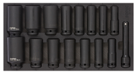 Sonic Equipment Filled toolbox SFS 1/3 S9 539pcs 753931