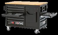 Sonic Equipment Werkstattwagen S13 gefüllt,...