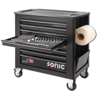 Sonic Equipment Filled toolbox S11 575pcs SFS (black) 757511