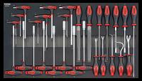 Sonic Equipment Werkstattwagen S11 gefüllt, 575-tlg., schwarz 757511