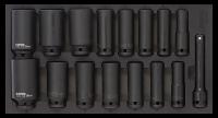 Sonic Equipment Werkstattwagen S14 gefüllt, 600-tlg., schwarz 760508