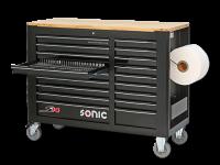 Sonic Equipment Werkstattwagen S14 gefüllt, 644-tlg....