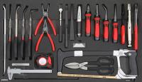 Sonic Equipment Filled toolbox S11 644pcs SFS (black) 764411