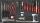 Sonic Equipment Werkstattwagen S11 gefüllt, 644-tlg., grau 764420