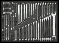 Sonic Equipment Werkstattwagen S14 gefüllt, 735-tlg., dunkelgrau 773508