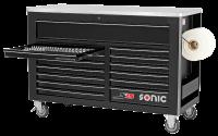 Sonic Equipment Werkstattwagen S15 gefüllt, 735-tlg., dunkelgrau 773544