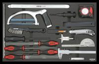 Sonic Equipment Filled toolbox S14 958pcs SFS (black) 795808
