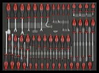 Sonic Equipment Werkstattwagen S15 gefüllt, 958-tlg., schwarz 795844